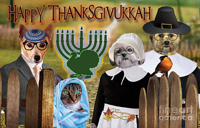 Happy Thanksgivukkah -1 Poster