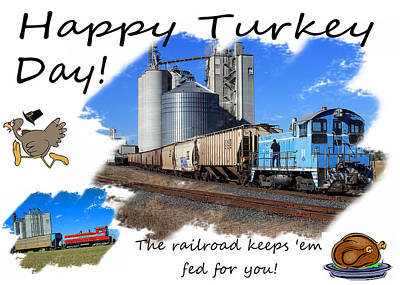 Happy Turkey Day Poster by Joseph C Hinson Photography