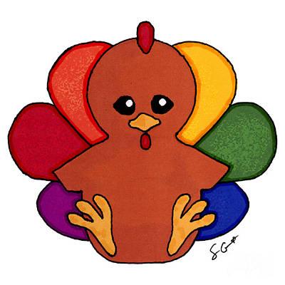 Happy Turkey Day Poster
