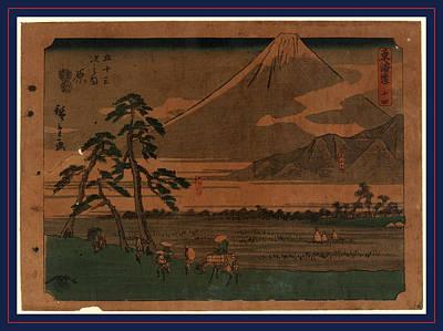 Hara, Ando Between 1848 And 1854, 1 Print  Woodcut Poster by Utagawa Hiroshige Also And? Hiroshige (1797-1858), Japanese