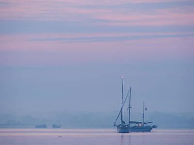 Harbor Before Dawn Poster