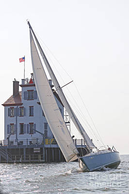 Harbor Sailing Two Poster