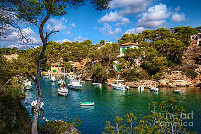 Harbour Of Cala Figuera Poster by Carsten Reisinger