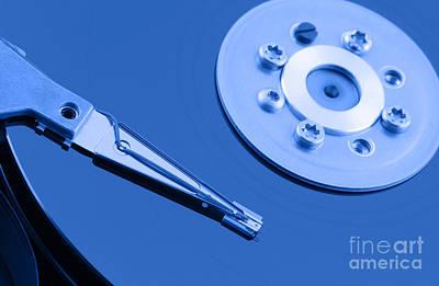 Hard Disk Poster