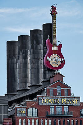 Hard Rock Cafe  Poster by Susan Candelario