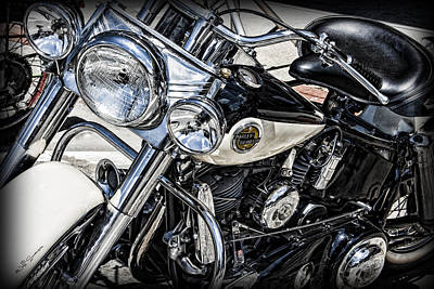 Harley Davidson Poster by Jeff Swanson