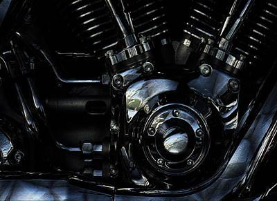 Harley Davidson V Twin 2 Poster