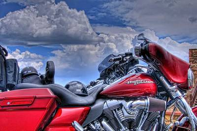 Harley Poster by Ron White