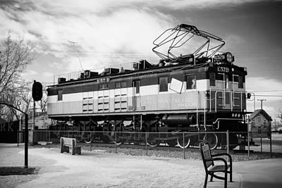 Harlo Train Poster by Paul Bartoszek