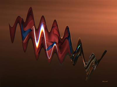 Poster featuring the photograph Harmonic Flow by Dennis Lundell