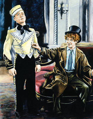 Harpo In The Cocoanuts Poster by Edward Draganski