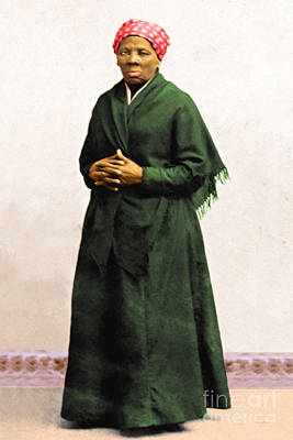 Harriet Tubman 20140210v1 Poster by Wingsdomain Art and Photography