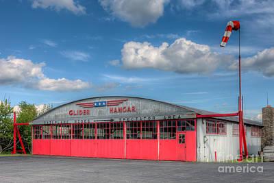 Harris Hill Glider Hangar IIi Poster