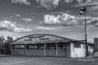 Harris Hill Glider Hangar Iv Poster