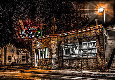 Harris Pizza #3 Poster by Ray Congrove