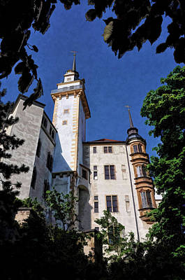 Poster featuring the photograph Hartenfels Castle - Torgau Germany by Mark Madere