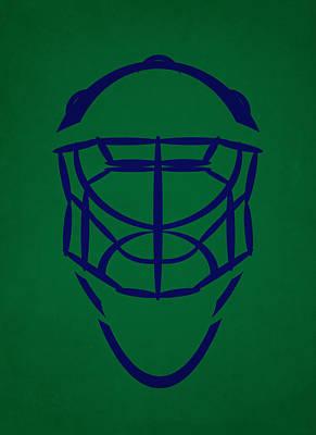 Hartford Whalers Goalie Mask Poster