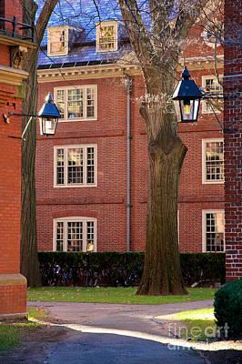 Harvard University Buildings Poster