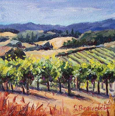 Harvest Hills Poster by Jennifer Beaudet
