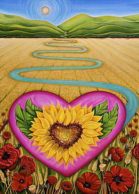 Harvest Of Hope Poster by Claire Johnson
