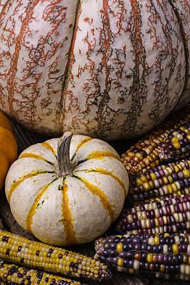 Harvest Still Life Poster by Garry Gay