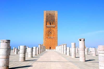 Hassan Tower Rabat Poster by Apurva Madia