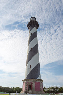 Hatteras Island Lighthouse Poster by Kay Pickens
