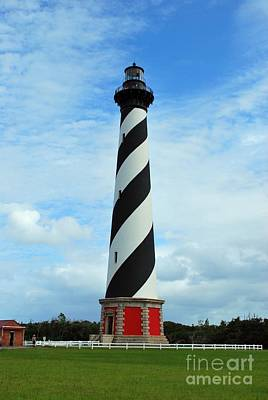 Poster featuring the photograph Hatteras Lighthouse by Bob Sample