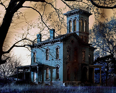 Haunted Sauer Castle Poster by Christopher McKenzie
