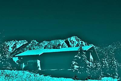 Haus In Den Bergen Poster