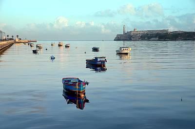Havana Maritime 2 Poster by Steven Richman