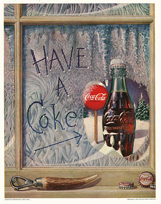 Have A Coke Poster by Georgia Fowler