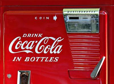 Have A Coke Vintage Vending Machine Poster