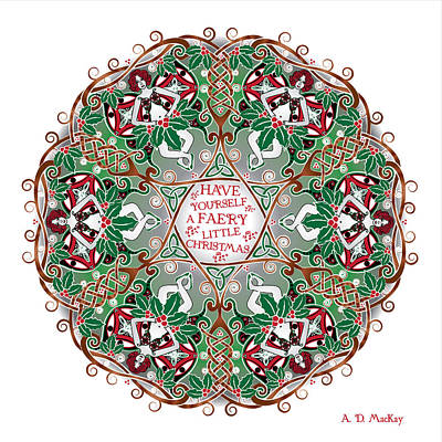 Have Yourself A Faery Little Christmas Poster