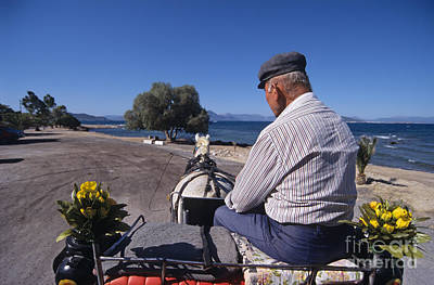 Having A Ride In Aegina Island Poster