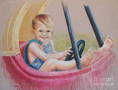 Having Fun Poster by Joy Nichols
