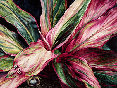 Hawaiian Prayer Poster by Lynda Hoffman-Snodgrass