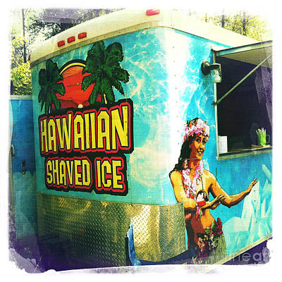 Hawaiian Shaved Ice Poster by Nina Prommer
