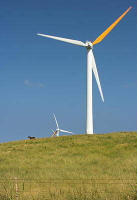 Poster featuring the photograph Hawi Wind Farm  by Scott Rackers