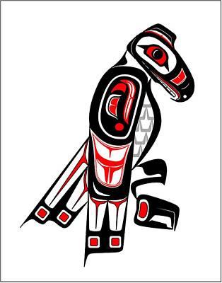Hawk Totem Poster