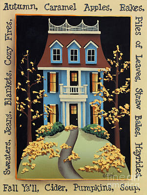 Hawthorne Knoll Poster by Catherine Holman