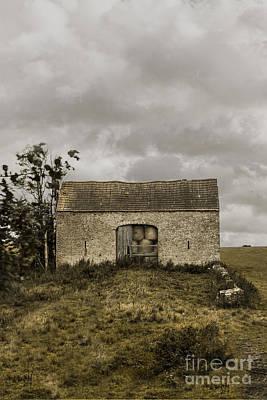 Hay Barn Poster by Margie Hurwich
