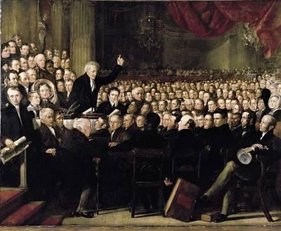 Haydon, Benjamin Robert 1786-1846. The Poster