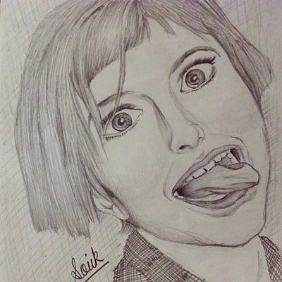 Hayley Williams Pencil Sketch. Poster by Souvik
