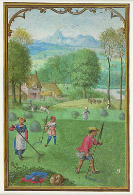 Haymaking Poster by British Library