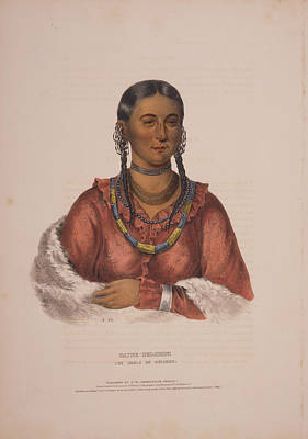Hayne-hudjihini, The Eagle Of Delight  A.h.  Drawn, Printed Poster by Litz Collection