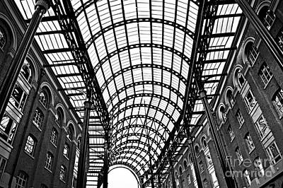 Hay's Galleria Roof Poster by Elena Elisseeva