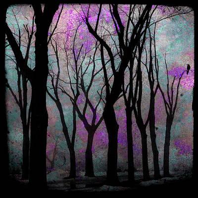 Hazy Purple Poster