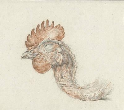 Head Of A Dead Chicken, Jean Bernard Poster