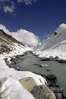 Headwaters Of Barun Khola - Makalu Base Camp Poster